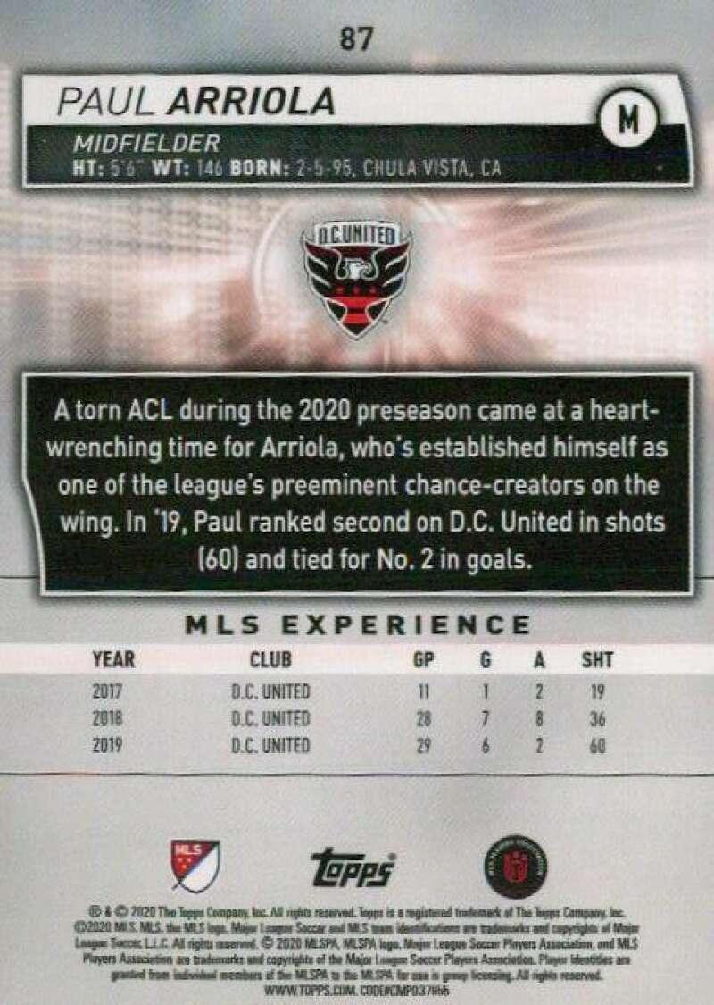 thumbnail 174 - 2020 Topps MLS Soccer Base Singles (Pick Your Cards)