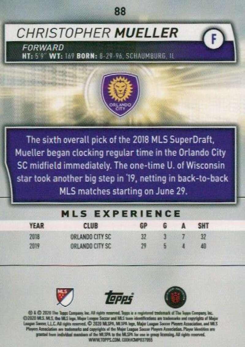 thumbnail 176 - 2020 Topps MLS Soccer Base Singles (Pick Your Cards)