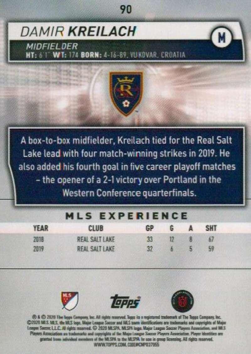 thumbnail 180 - 2020 Topps MLS Soccer Base Singles (Pick Your Cards)