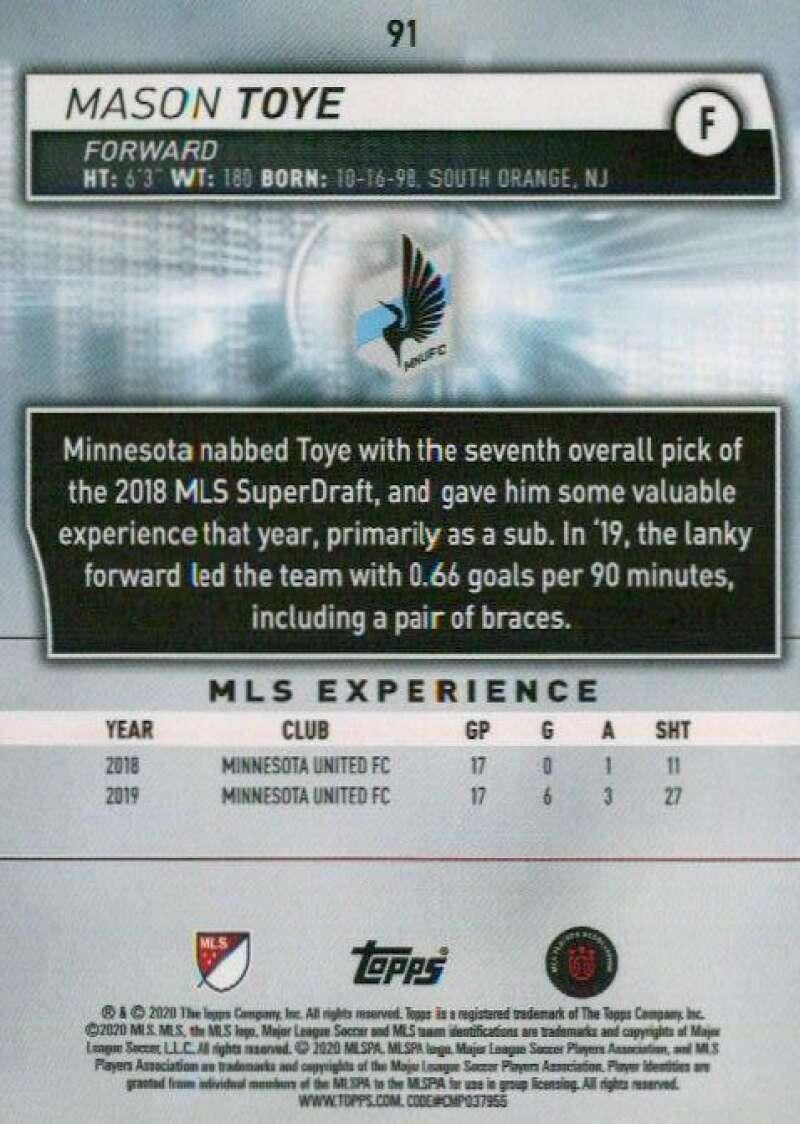 thumbnail 182 - 2020 Topps MLS Soccer Base Singles (Pick Your Cards)