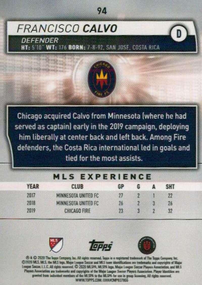 thumbnail 188 - 2020 Topps MLS Soccer Base Singles (Pick Your Cards)
