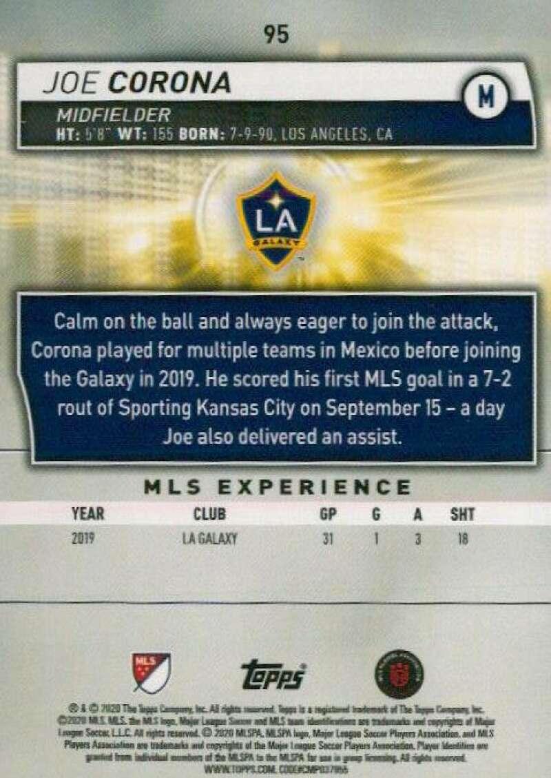 thumbnail 190 - 2020 Topps MLS Soccer Base Singles (Pick Your Cards)