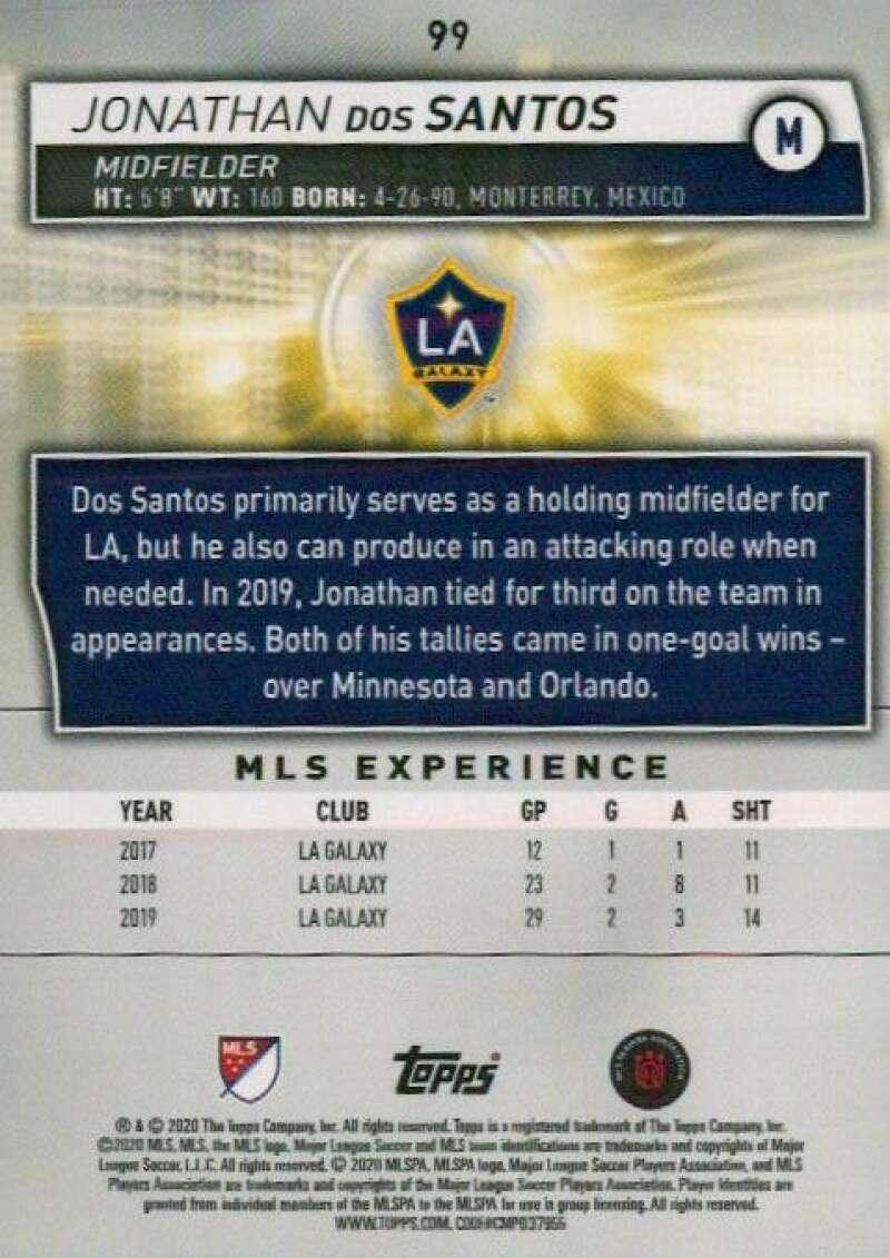thumbnail 198 - 2020 Topps MLS Soccer Base Singles (Pick Your Cards)