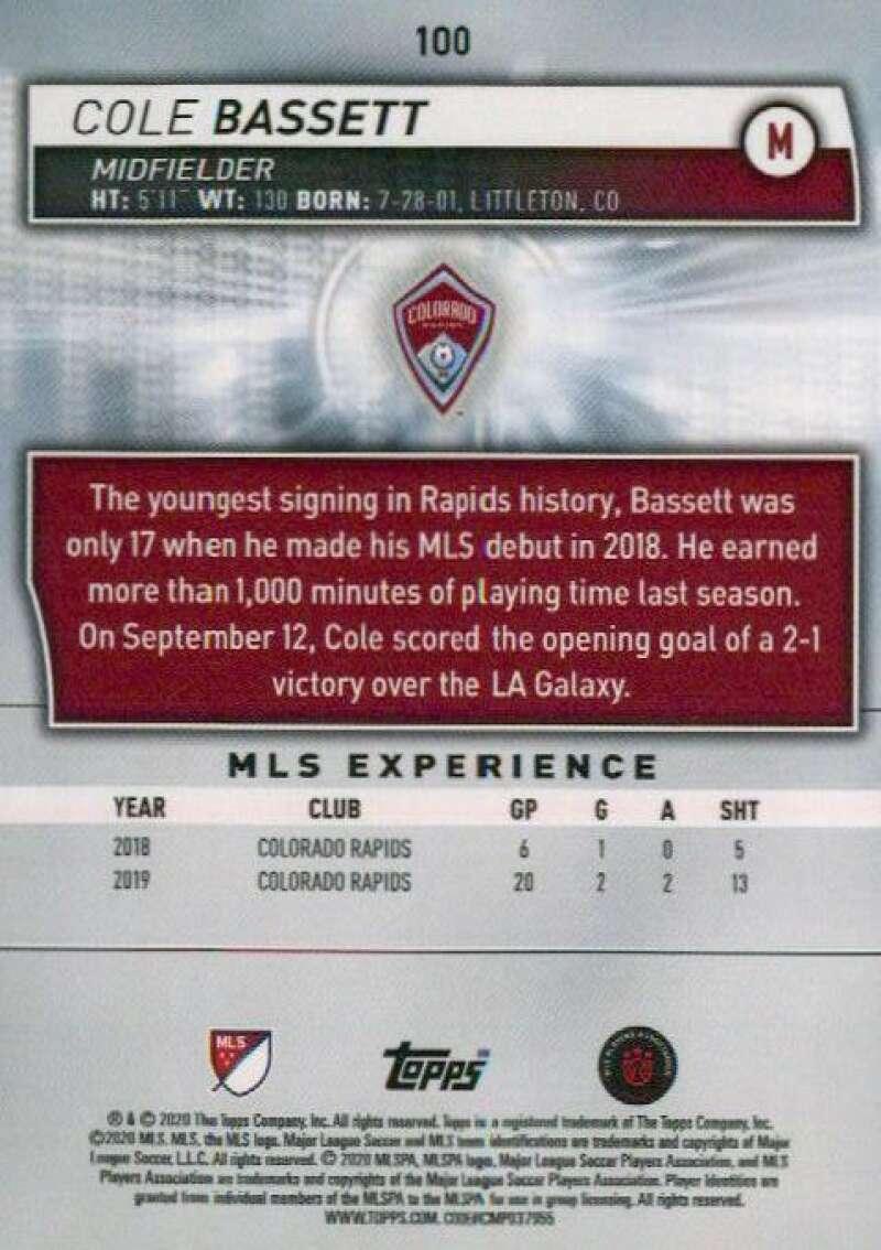 thumbnail 200 - 2020 Topps MLS Soccer Base Singles (Pick Your Cards)