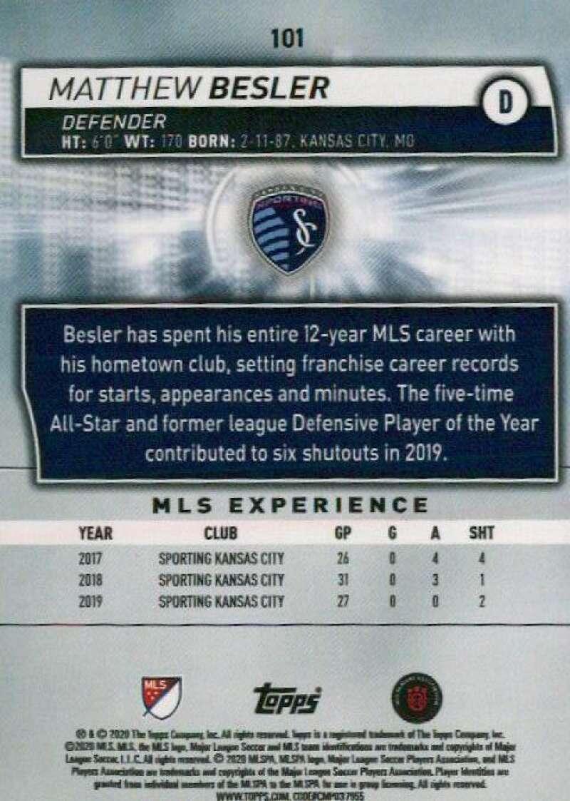 thumbnail 202 - 2020 Topps MLS Soccer Base Singles (Pick Your Cards)