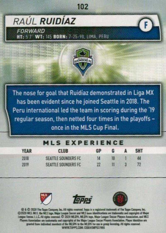 thumbnail 204 - 2020 Topps MLS Soccer Base Singles (Pick Your Cards)