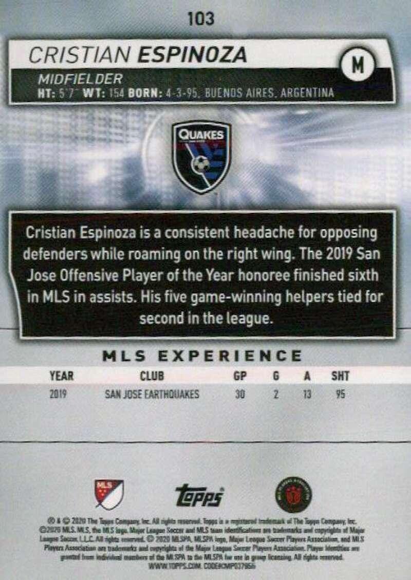 thumbnail 206 - 2020 Topps MLS Soccer Base Singles (Pick Your Cards)