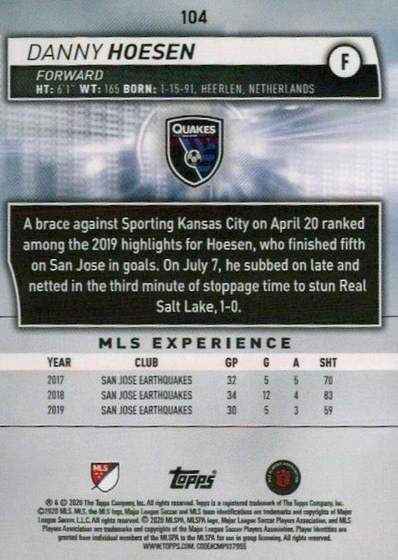 thumbnail 208 - 2020 Topps MLS Soccer Base Singles (Pick Your Cards)