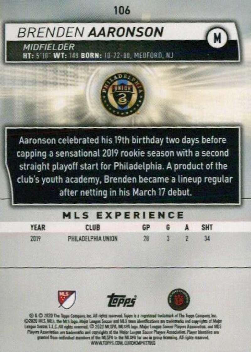 thumbnail 212 - 2020 Topps MLS Soccer Base Singles (Pick Your Cards)