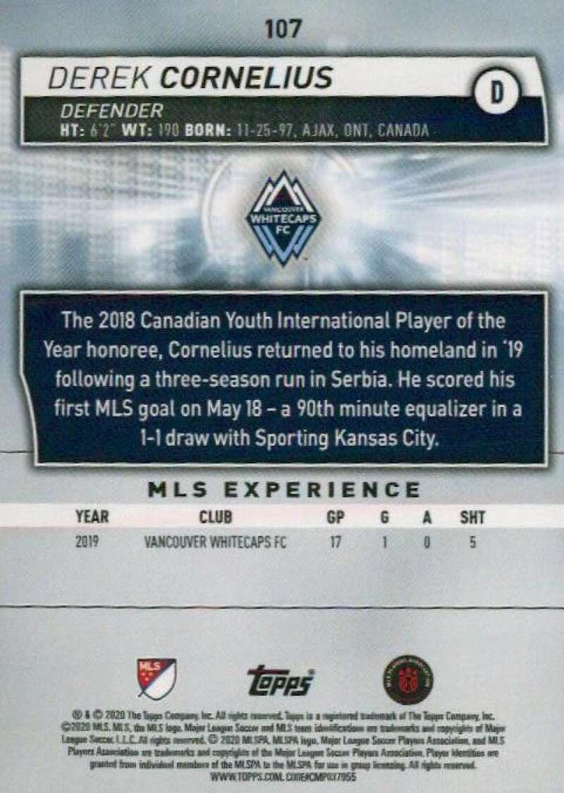 thumbnail 214 - 2020 Topps MLS Soccer Base Singles (Pick Your Cards)