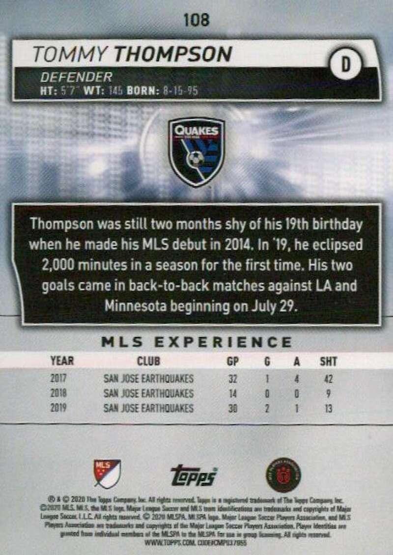 thumbnail 216 - 2020 Topps MLS Soccer Base Singles (Pick Your Cards)