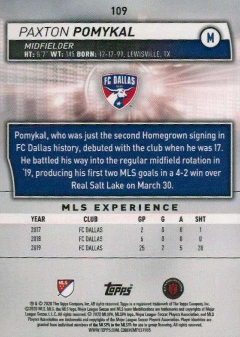 thumbnail 218 - 2020 Topps MLS Soccer Base Singles (Pick Your Cards)