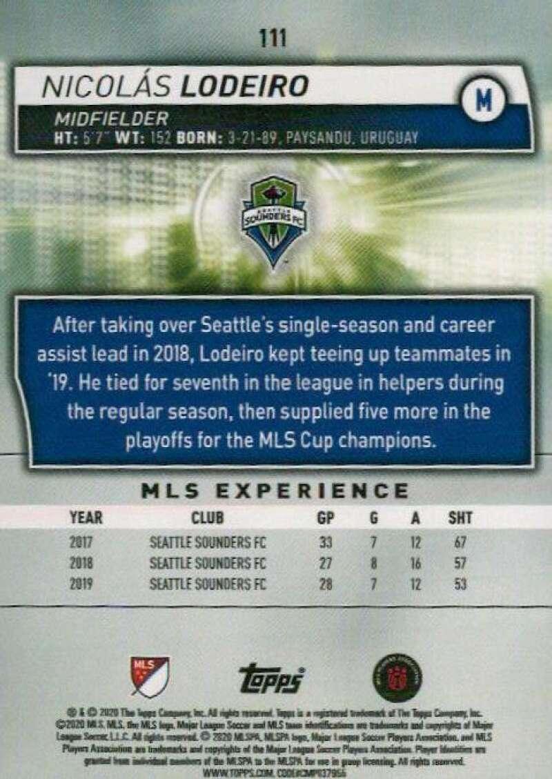 thumbnail 222 - 2020 Topps MLS Soccer Base Singles (Pick Your Cards)