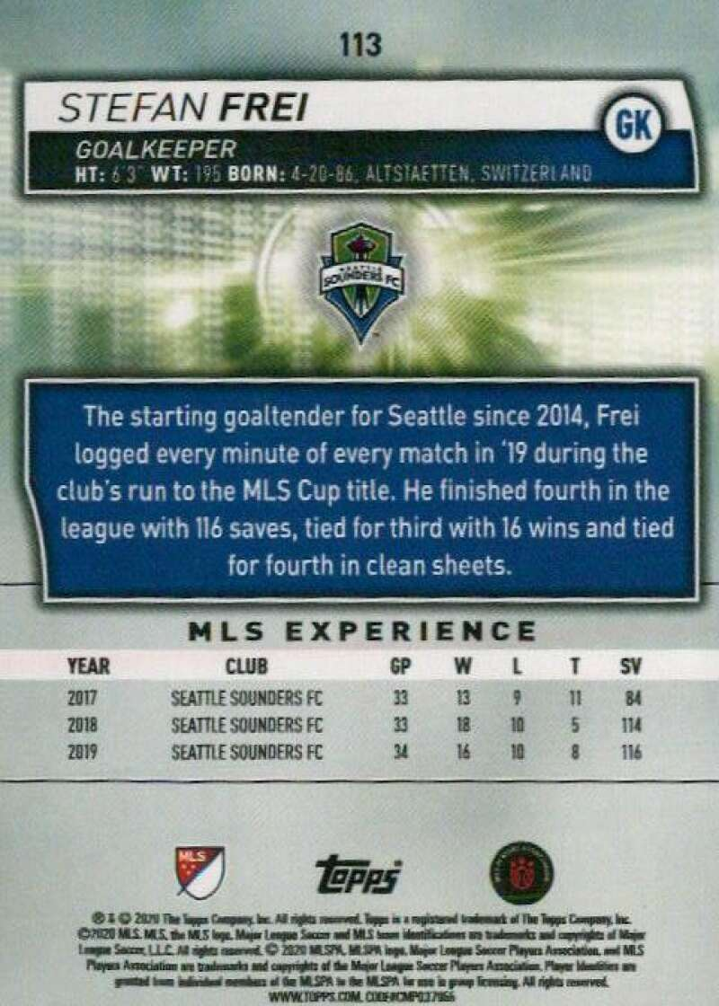 thumbnail 226 - 2020 Topps MLS Soccer Base Singles (Pick Your Cards)