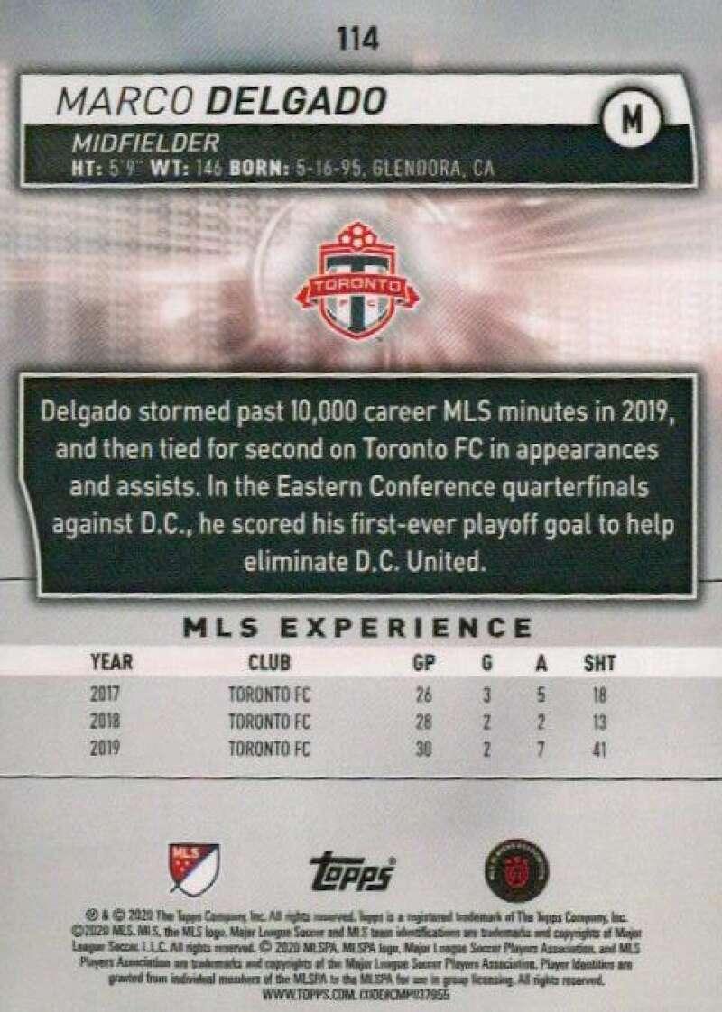 thumbnail 228 - 2020 Topps MLS Soccer Base Singles (Pick Your Cards)