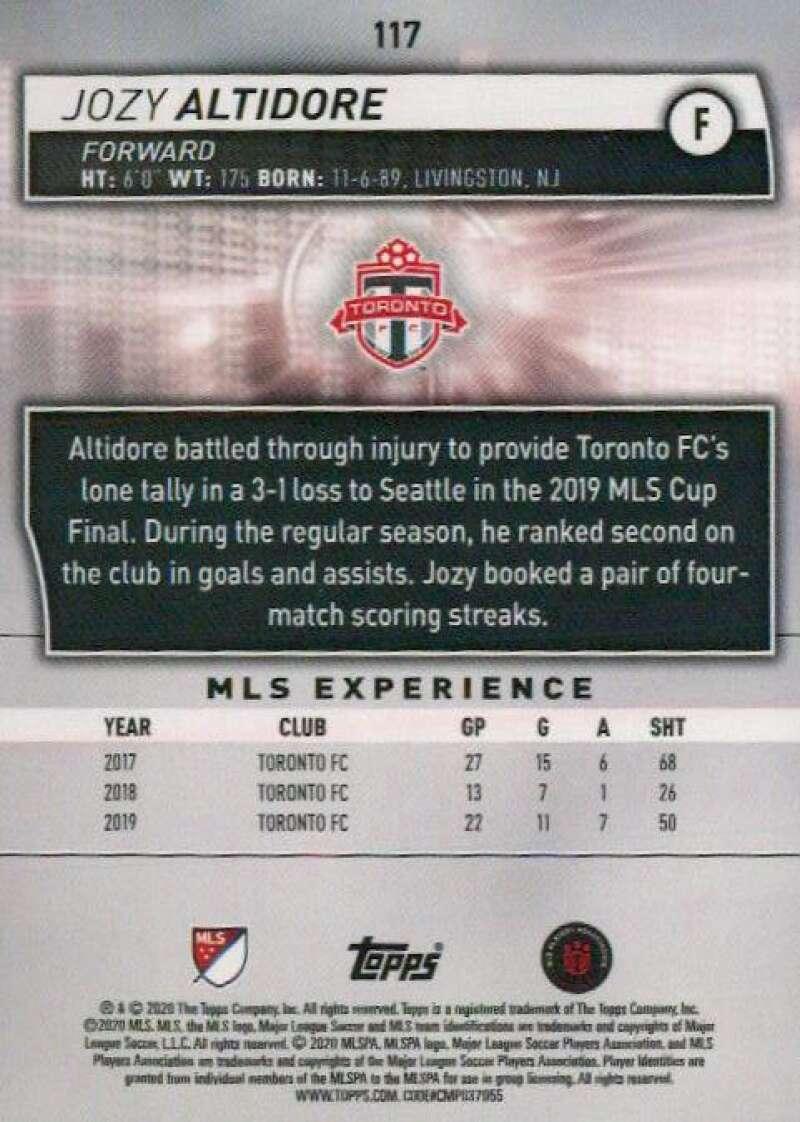 thumbnail 234 - 2020 Topps MLS Soccer Base Singles (Pick Your Cards)