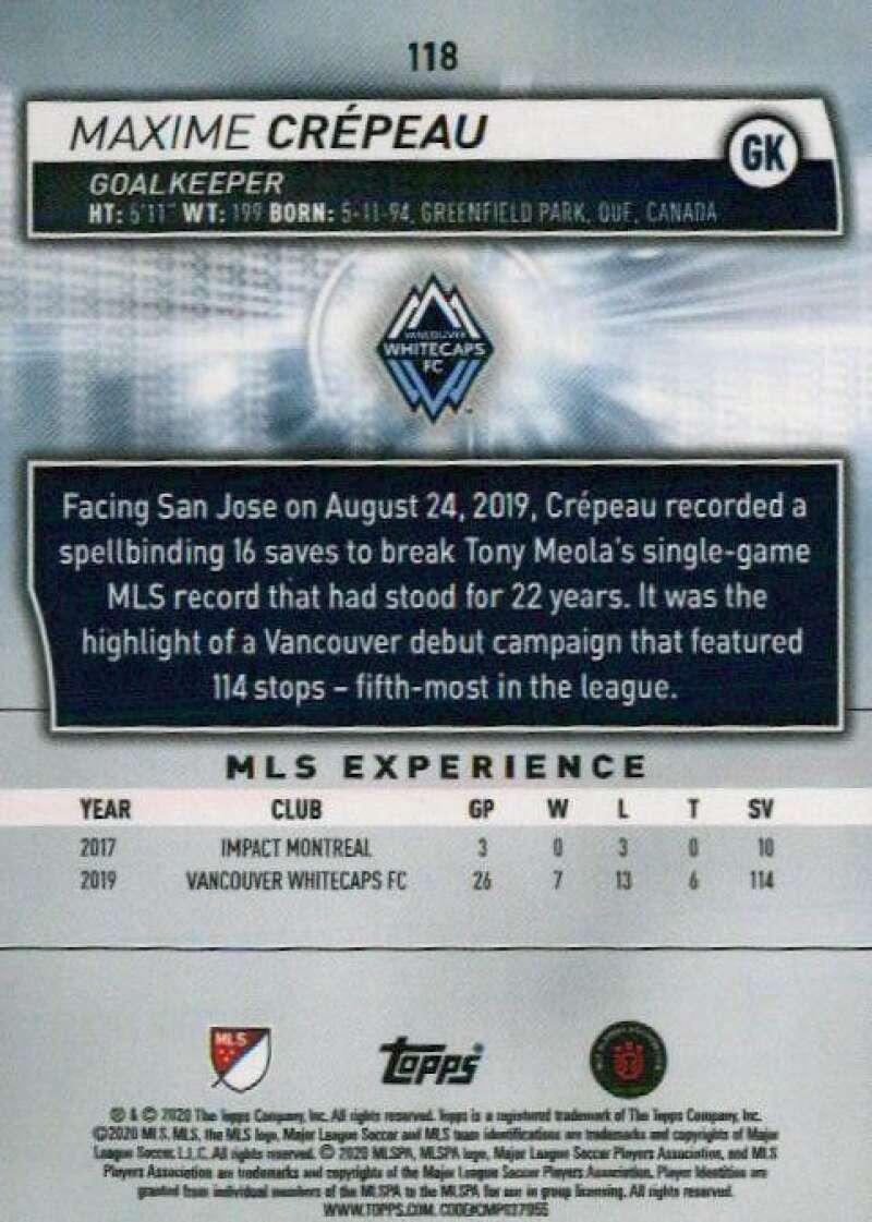 thumbnail 236 - 2020 Topps MLS Soccer Base Singles (Pick Your Cards)