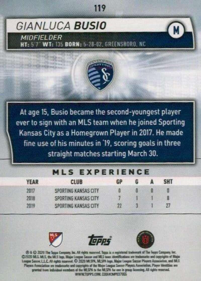 thumbnail 238 - 2020 Topps MLS Soccer Base Singles (Pick Your Cards)