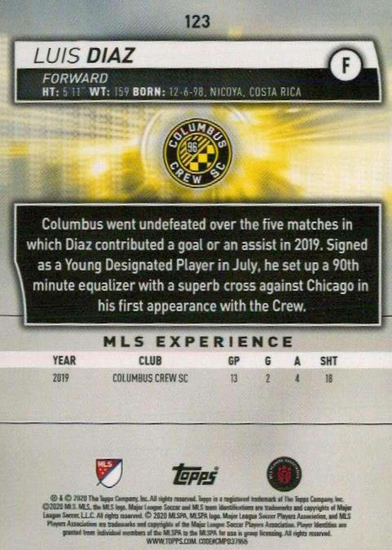 thumbnail 246 - 2020 Topps MLS Soccer Base Singles (Pick Your Cards)
