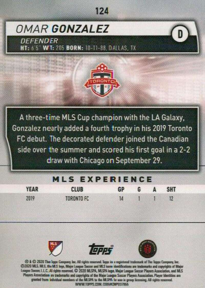thumbnail 248 - 2020 Topps MLS Soccer Base Singles (Pick Your Cards)