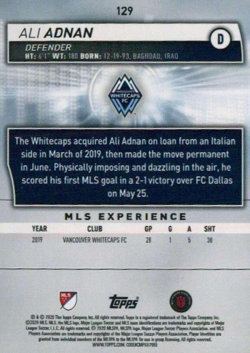 thumbnail 258 - 2020 Topps MLS Soccer Base Singles (Pick Your Cards)