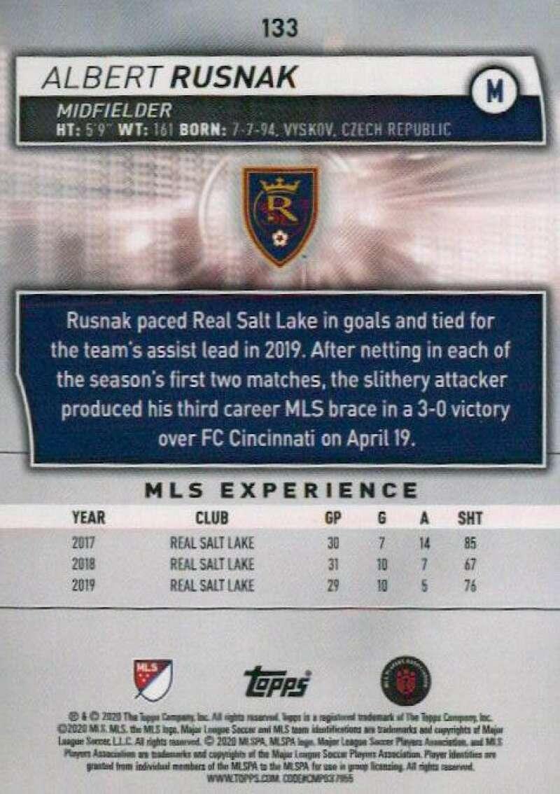 thumbnail 266 - 2020 Topps MLS Soccer Base Singles (Pick Your Cards)