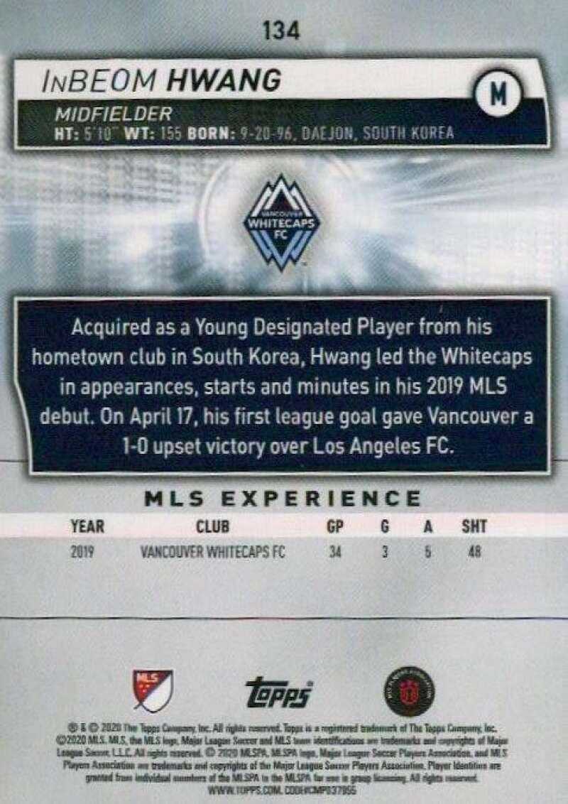 thumbnail 268 - 2020 Topps MLS Soccer Base Singles (Pick Your Cards)