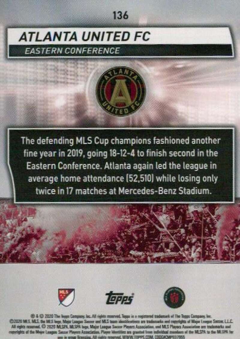 thumbnail 272 - 2020 Topps MLS Soccer Base Singles (Pick Your Cards)