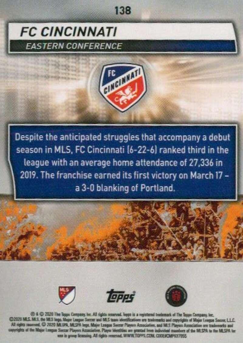 thumbnail 276 - 2020 Topps MLS Soccer Base Singles (Pick Your Cards)