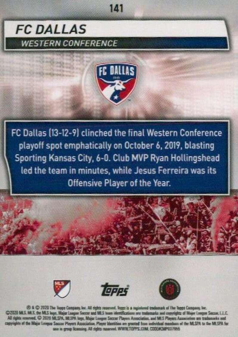 thumbnail 282 - 2020 Topps MLS Soccer Base Singles (Pick Your Cards)