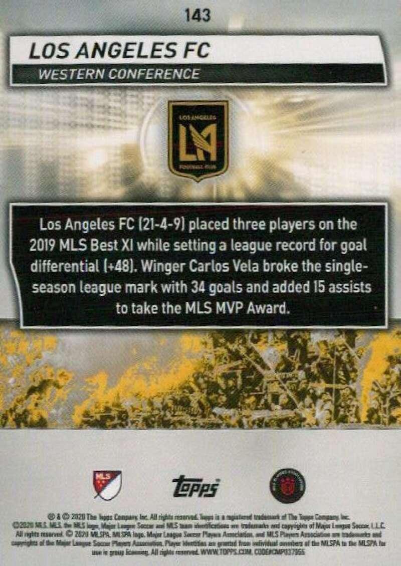thumbnail 286 - 2020 Topps MLS Soccer Base Singles (Pick Your Cards)