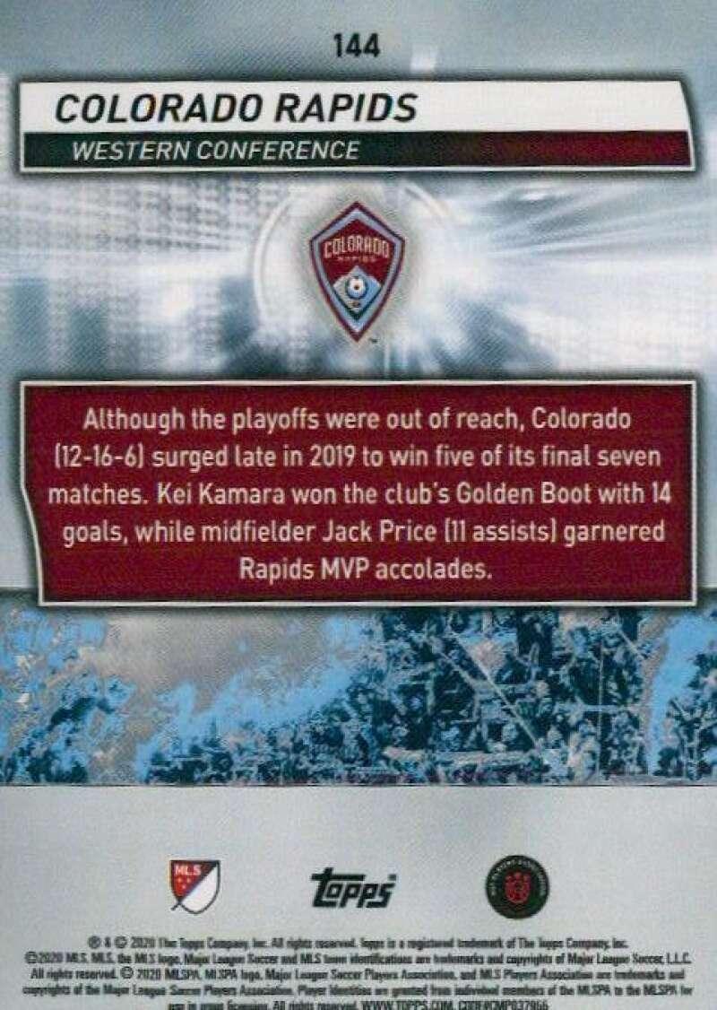 thumbnail 288 - 2020 Topps MLS Soccer Base Singles (Pick Your Cards)