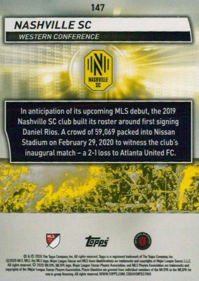 thumbnail 294 - 2020 Topps MLS Soccer Base Singles (Pick Your Cards)
