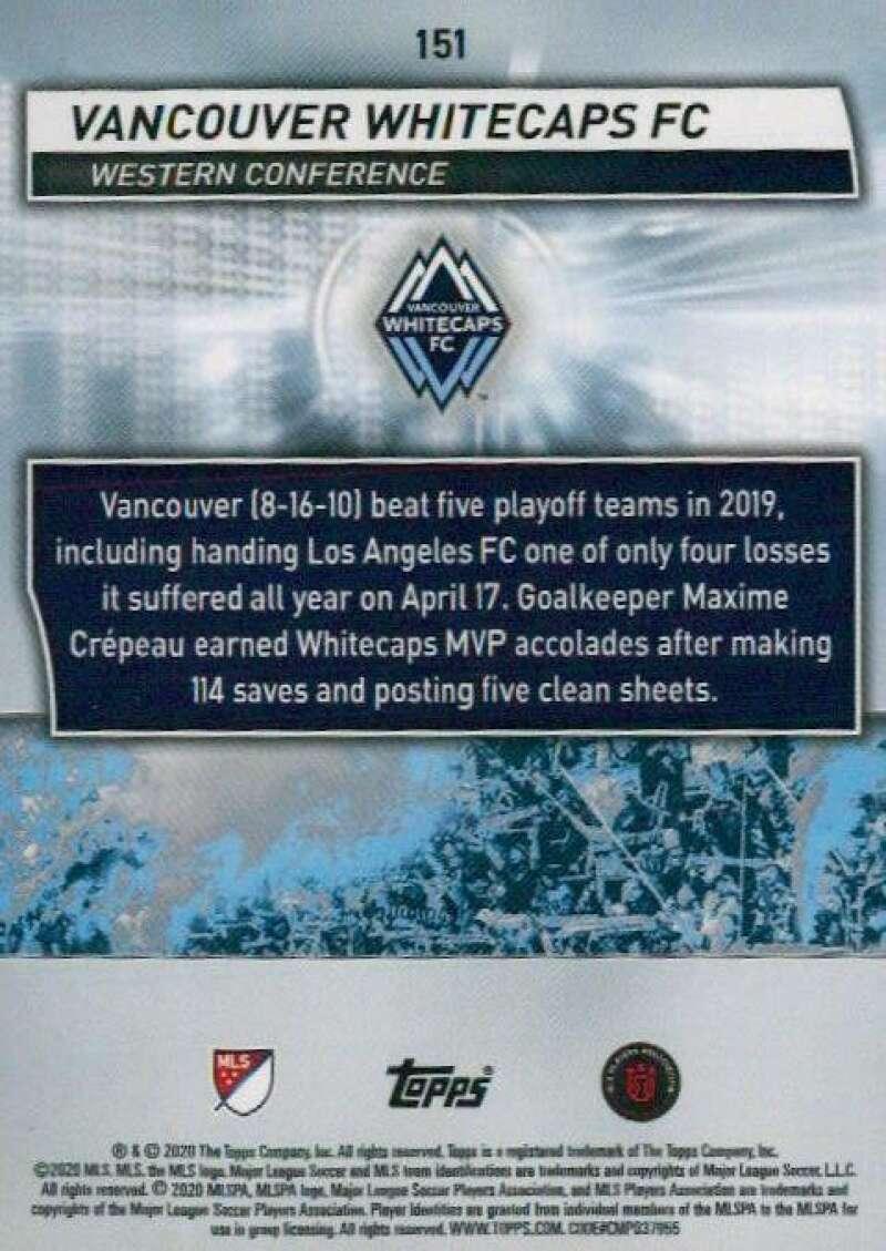 thumbnail 302 - 2020 Topps MLS Soccer Base Singles (Pick Your Cards)