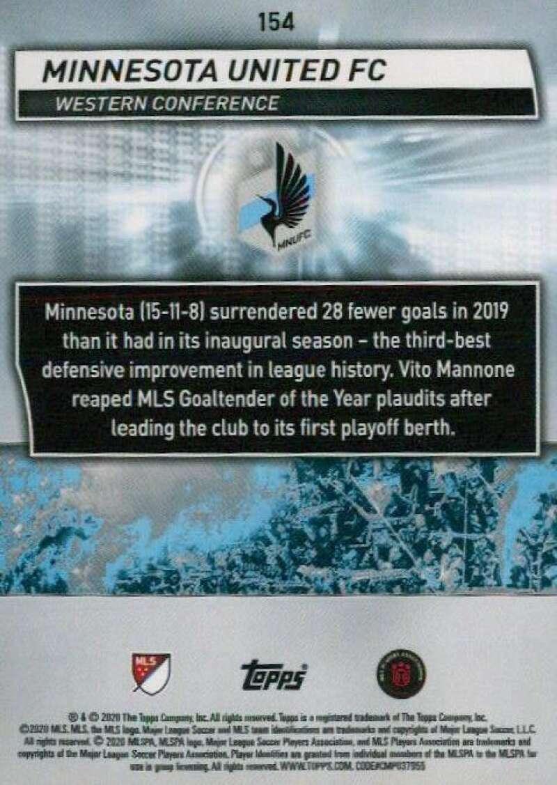 thumbnail 308 - 2020 Topps MLS Soccer Base Singles (Pick Your Cards)
