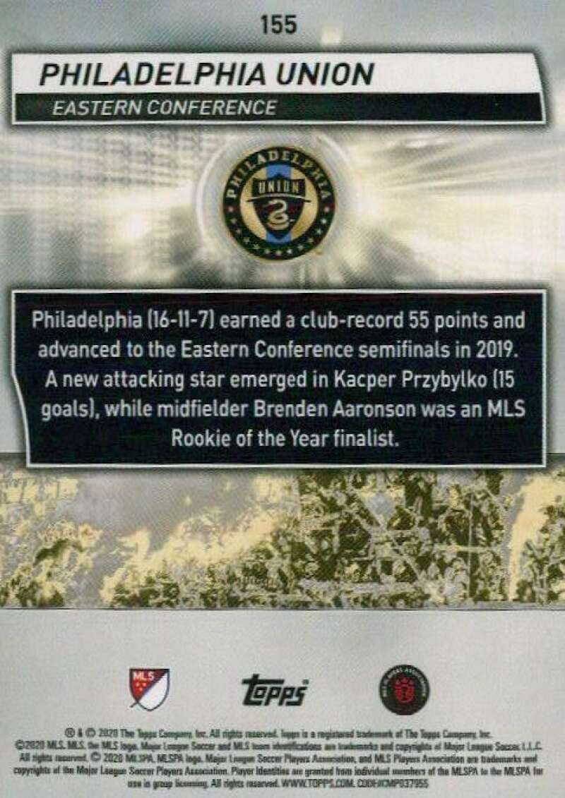 thumbnail 310 - 2020 Topps MLS Soccer Base Singles (Pick Your Cards)