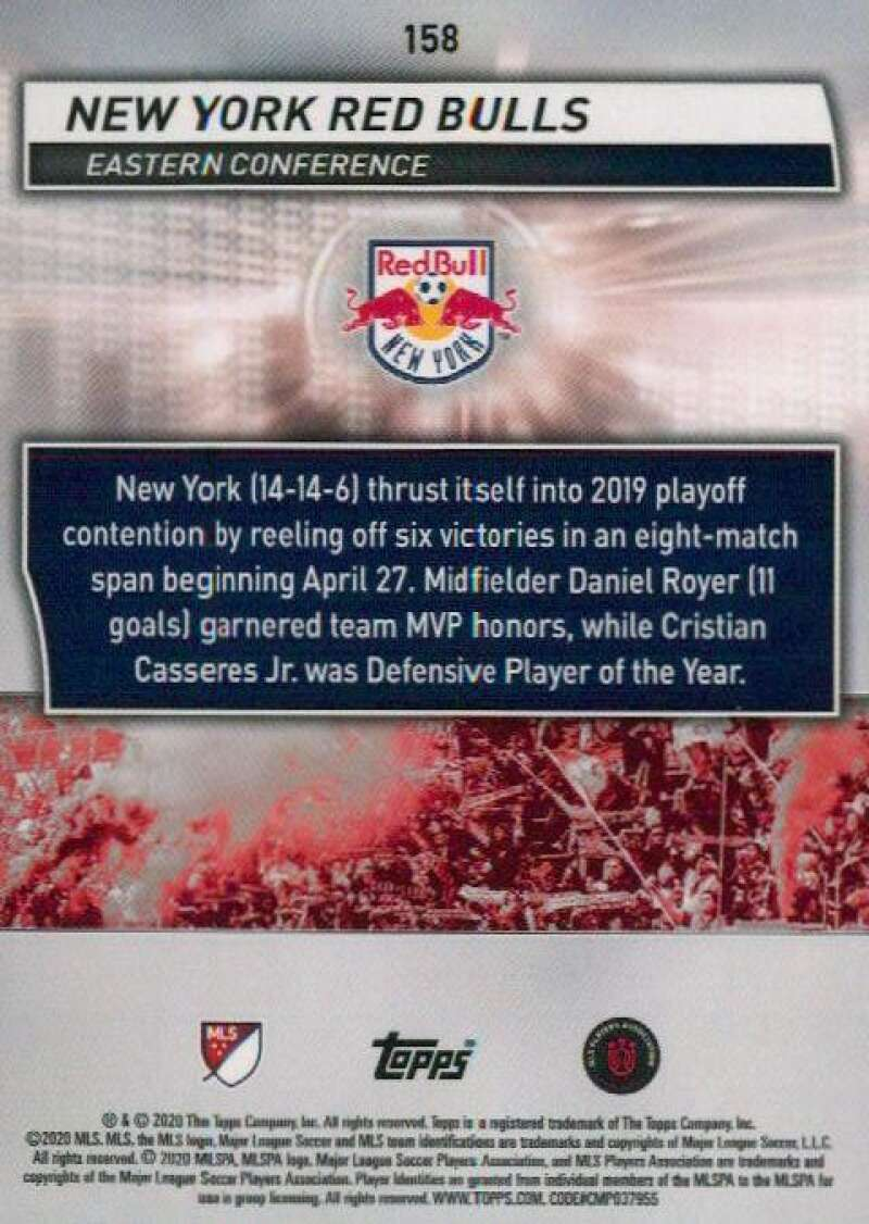 thumbnail 316 - 2020 Topps MLS Soccer Base Singles (Pick Your Cards)