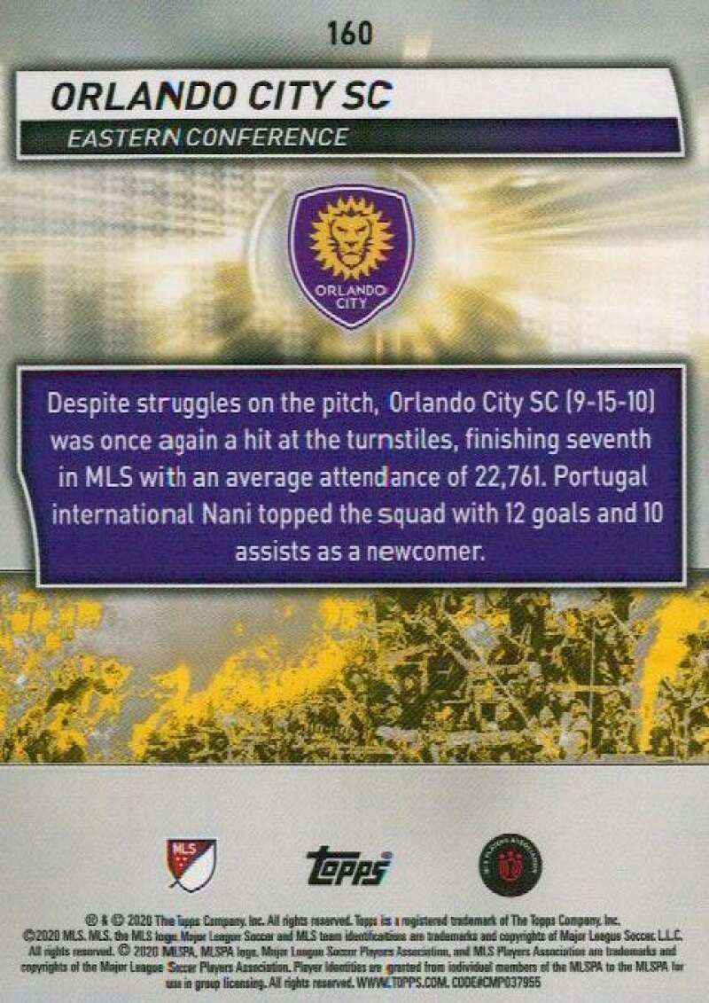 thumbnail 320 - 2020 Topps MLS Soccer Base Singles (Pick Your Cards)