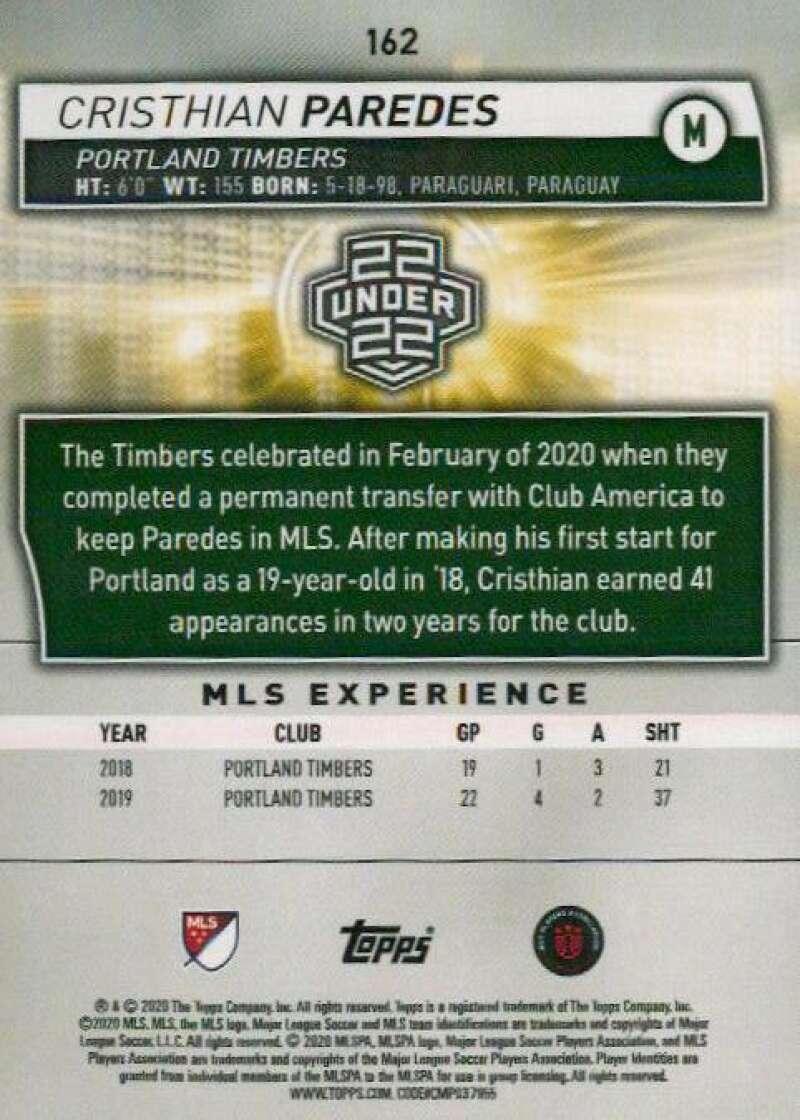 thumbnail 324 - 2020 Topps MLS Soccer Base Singles (Pick Your Cards)
