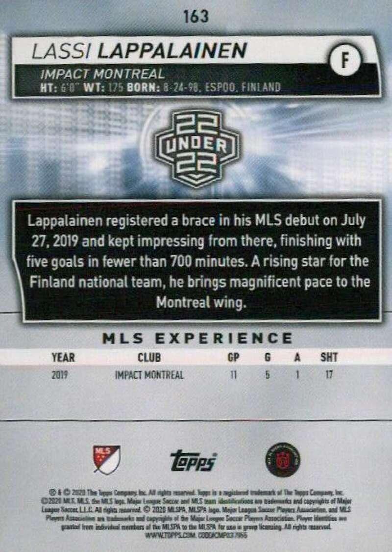thumbnail 326 - 2020 Topps MLS Soccer Base Singles (Pick Your Cards)