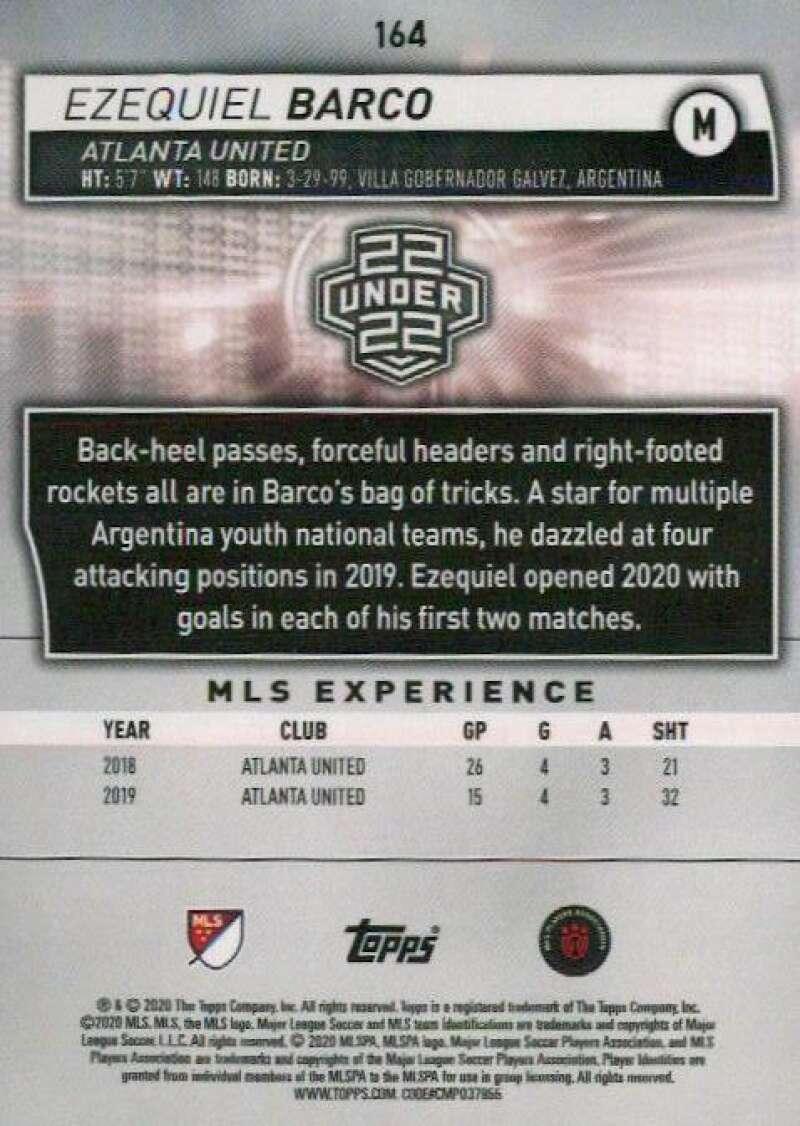thumbnail 328 - 2020 Topps MLS Soccer Base Singles (Pick Your Cards)