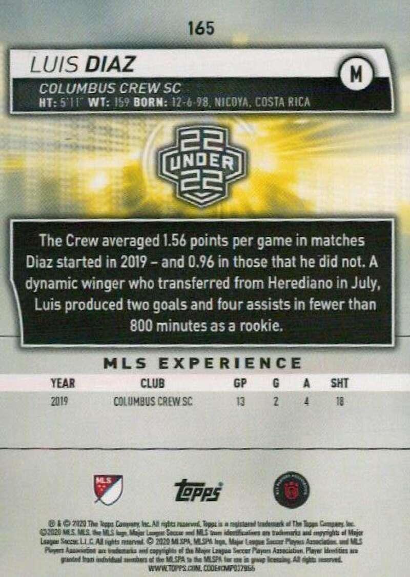thumbnail 330 - 2020 Topps MLS Soccer Base Singles (Pick Your Cards)
