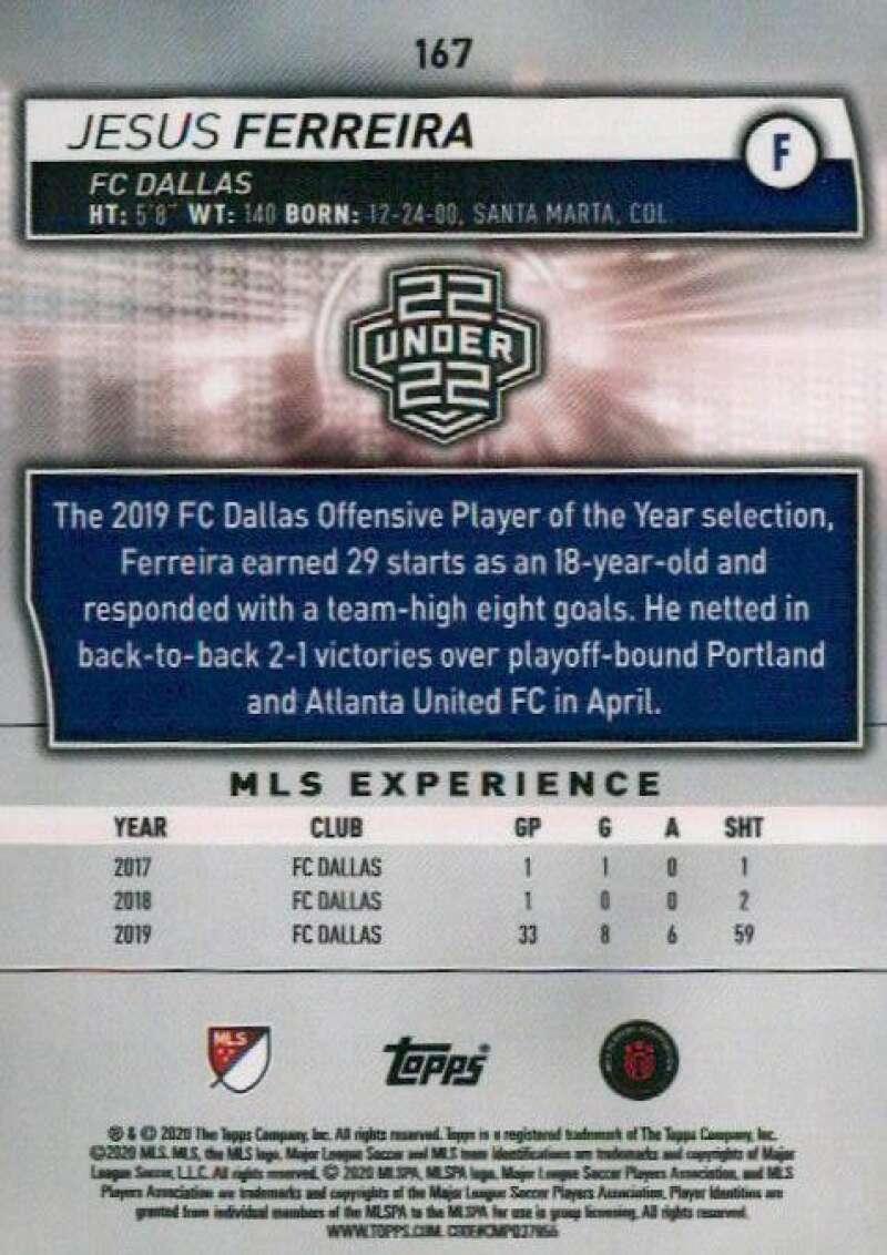 thumbnail 334 - 2020 Topps MLS Soccer Base Singles (Pick Your Cards)