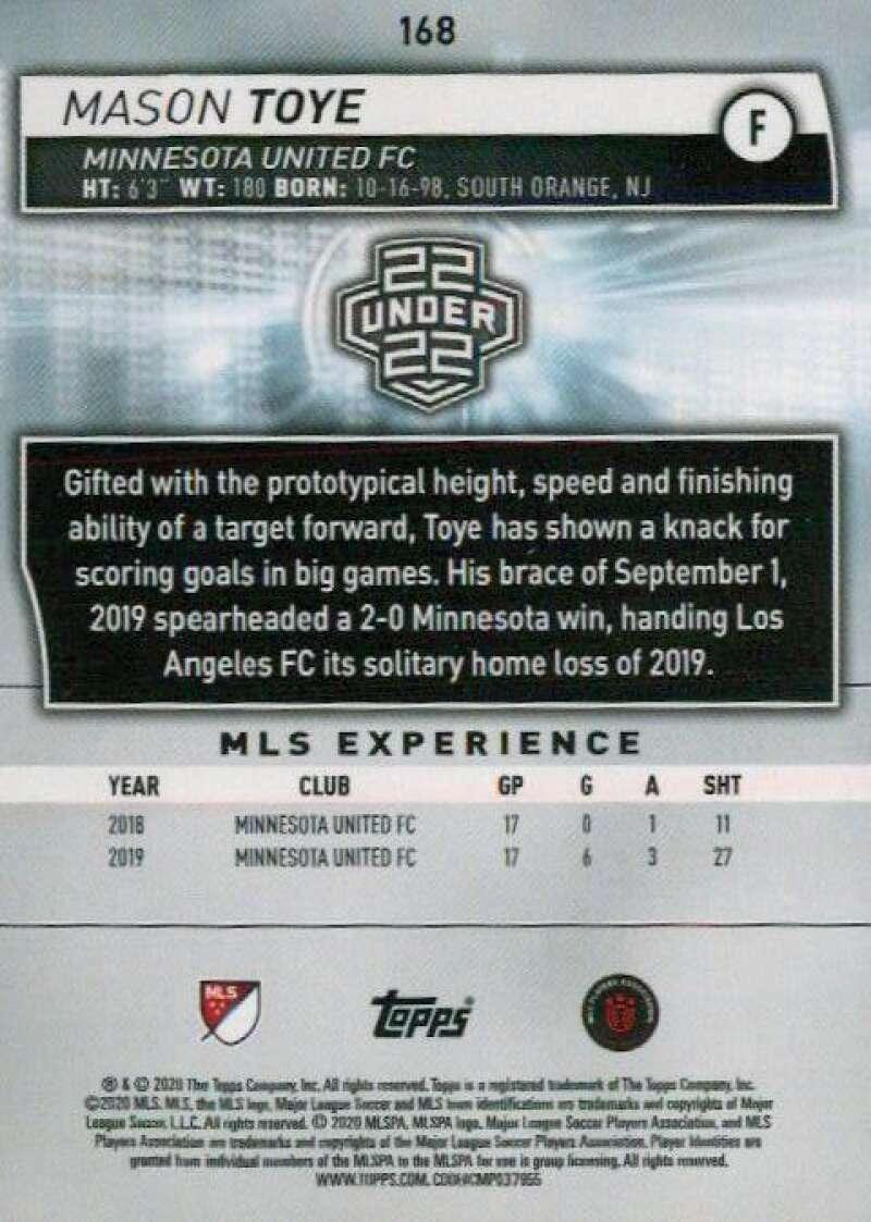 thumbnail 336 - 2020 Topps MLS Soccer Base Singles (Pick Your Cards)