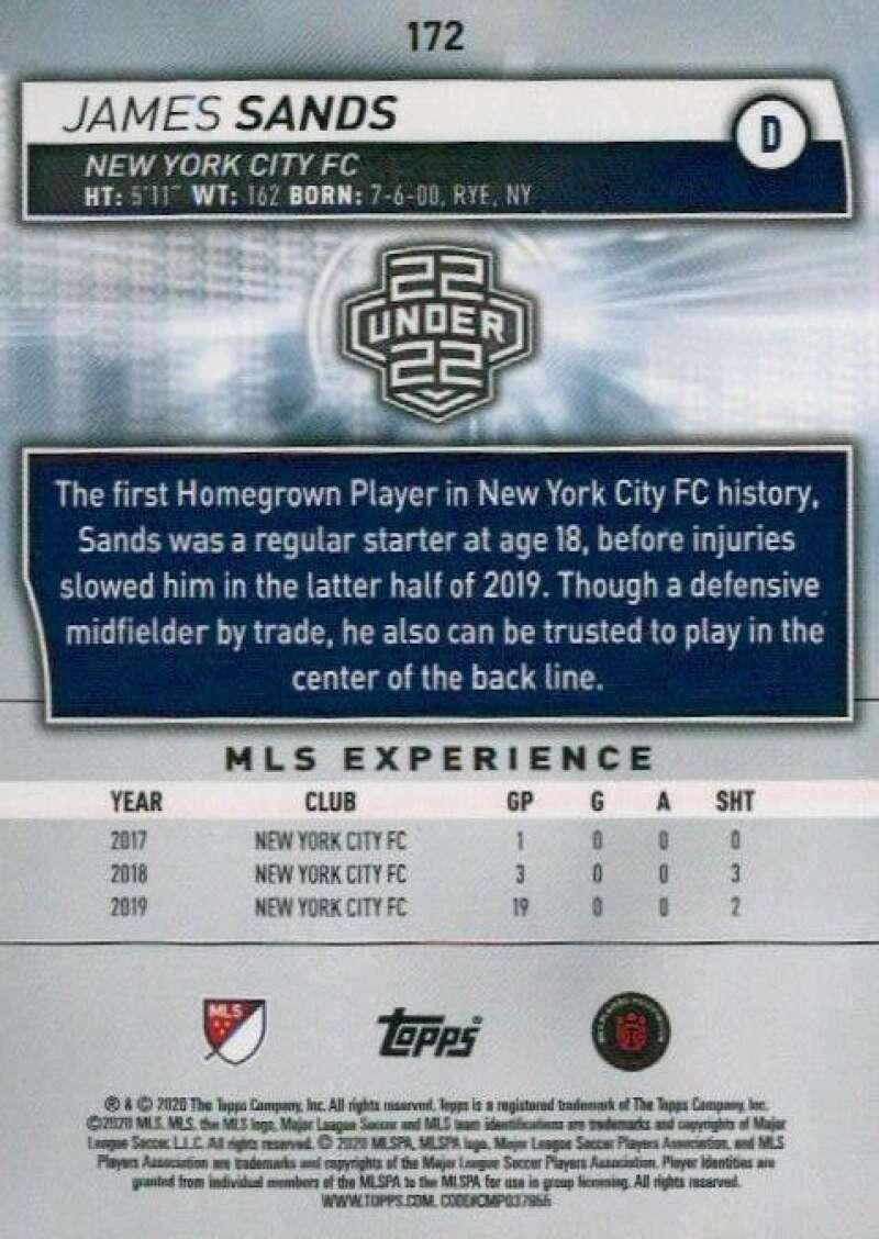 thumbnail 344 - 2020 Topps MLS Soccer Base Singles (Pick Your Cards)