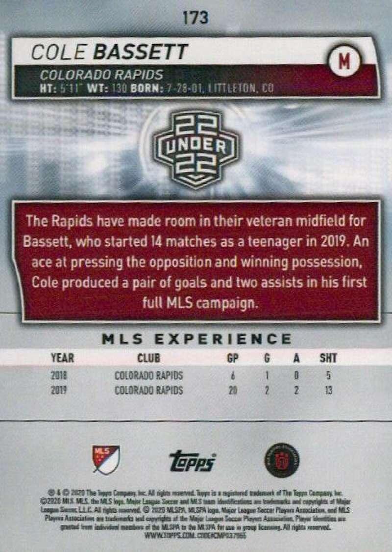 thumbnail 346 - 2020 Topps MLS Soccer Base Singles (Pick Your Cards)