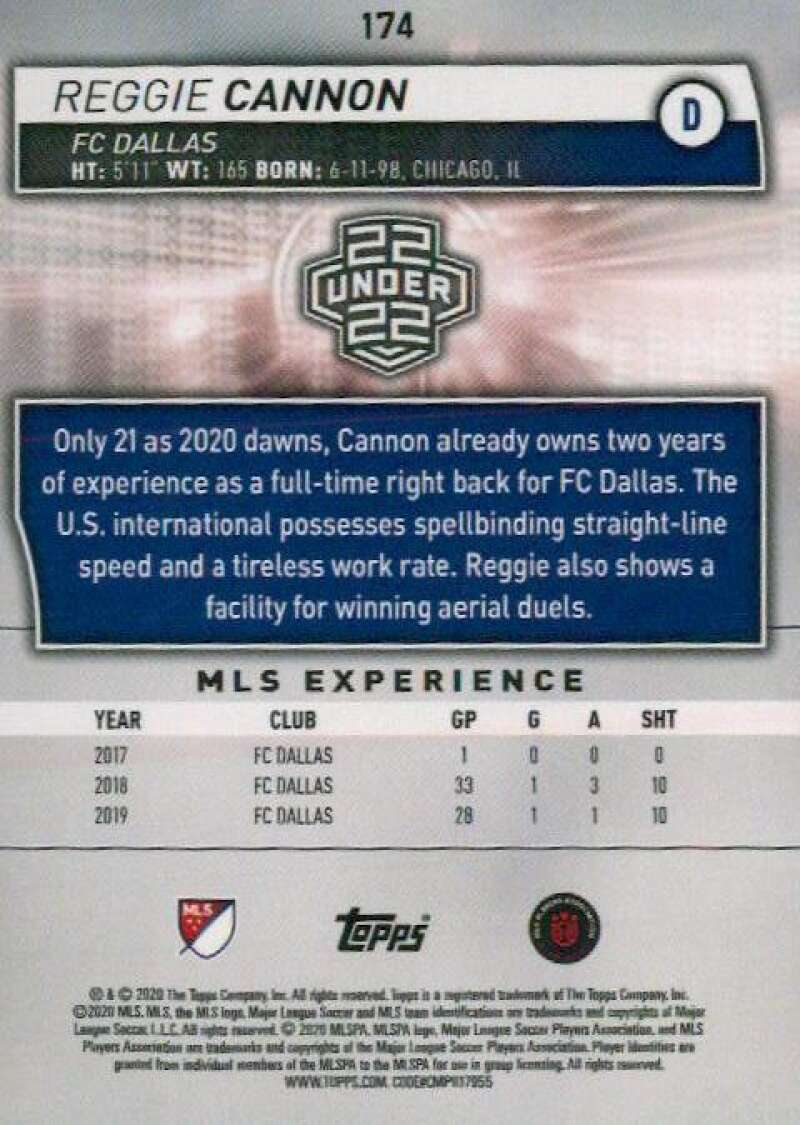 thumbnail 348 - 2020 Topps MLS Soccer Base Singles (Pick Your Cards)