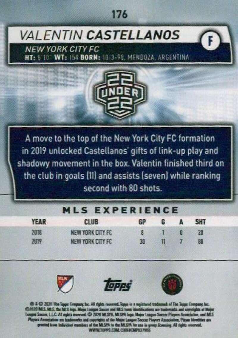 thumbnail 352 - 2020 Topps MLS Soccer Base Singles (Pick Your Cards)