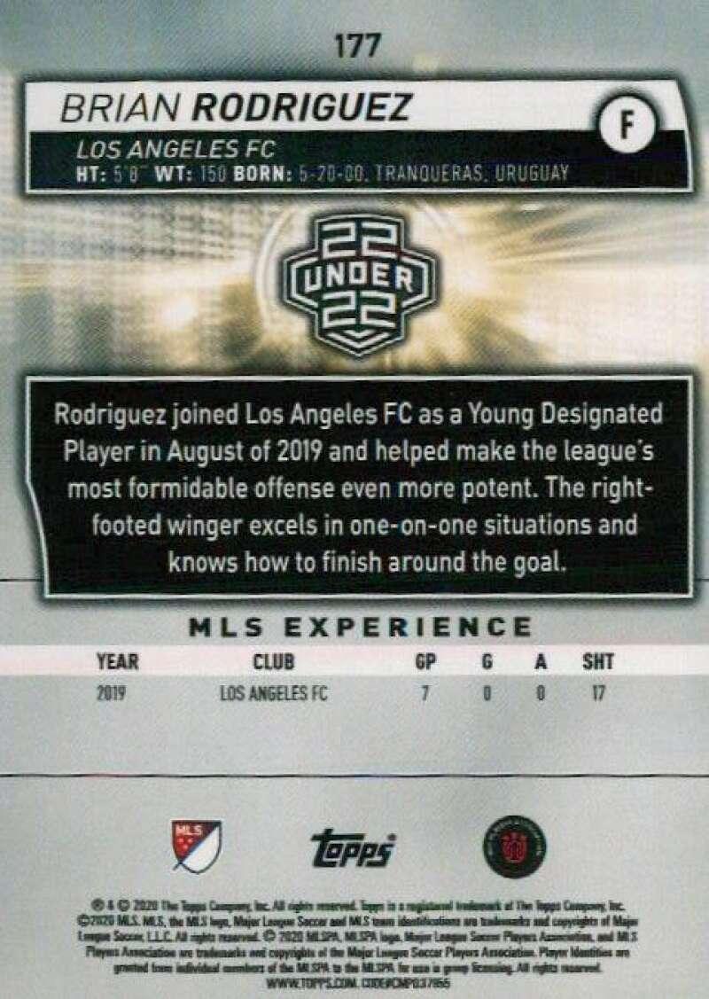 thumbnail 354 - 2020 Topps MLS Soccer Base Singles (Pick Your Cards)