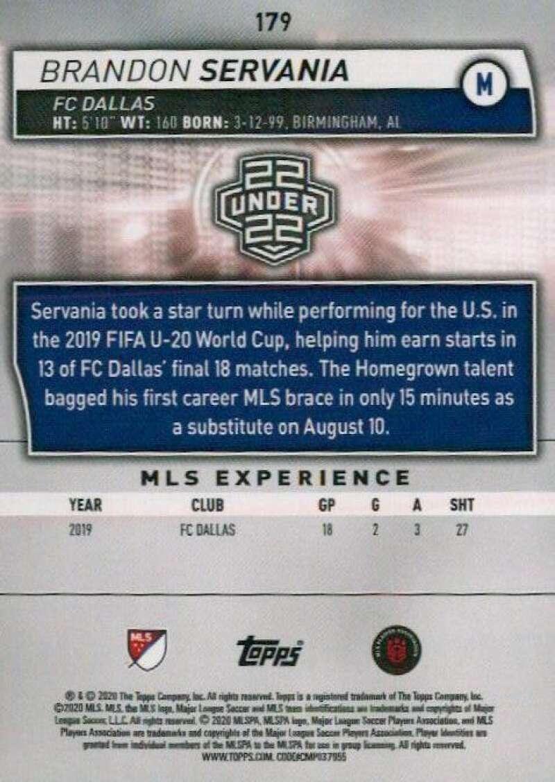 thumbnail 358 - 2020 Topps MLS Soccer Base Singles (Pick Your Cards)